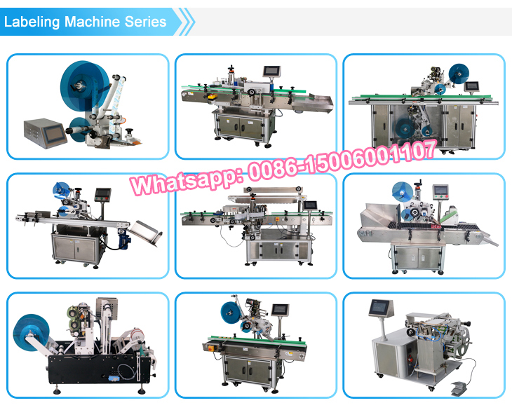 NY-817 manual flat bottle labeling machine/sticker labeling machine with batch coding machine
