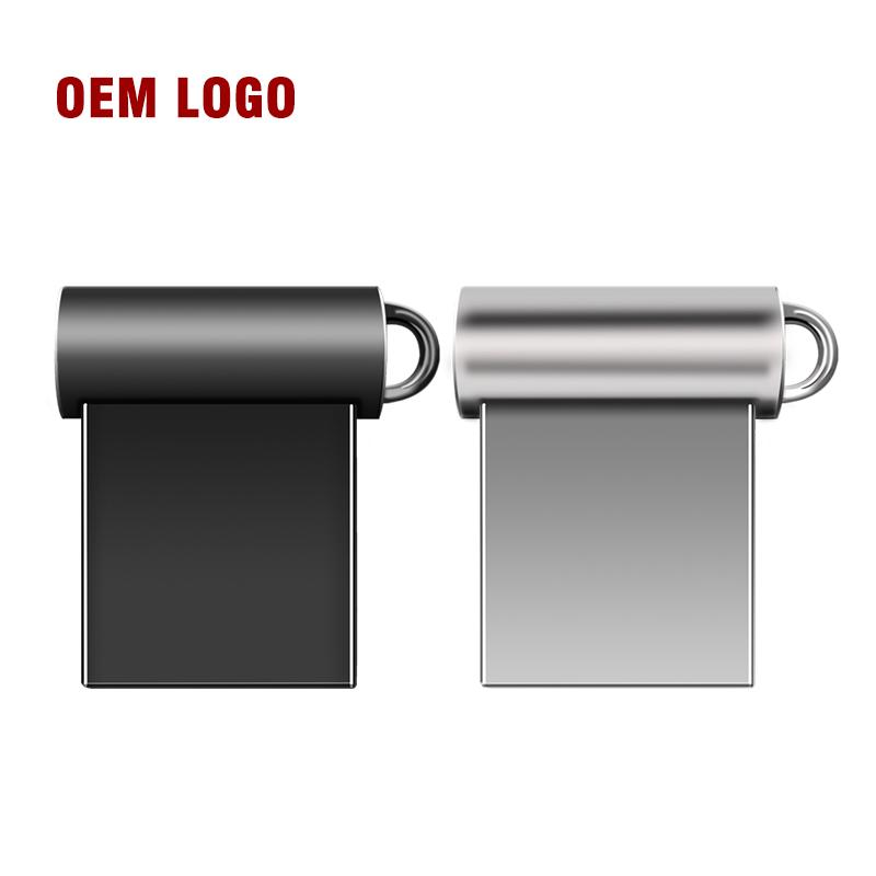mini metal usb flash drive 8gb U disk16gb memory stick pen drive pendrives 4gb 64gb 32gb bulk 2.0 otg, Silver/gray
