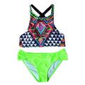 2016 Hot Sale Bikini Set Brazilian Push Up Bikini Swimsuit Floral Biquini S L EA14