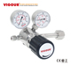 Oxygen cylinder pressure regulator n2 regulator with gauge