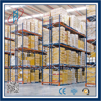 CE certificated cold room sea food warehouse storage shelving