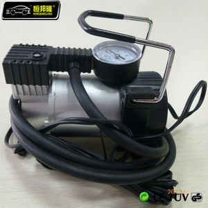 12V car air compressor nitrogen for tire inflation