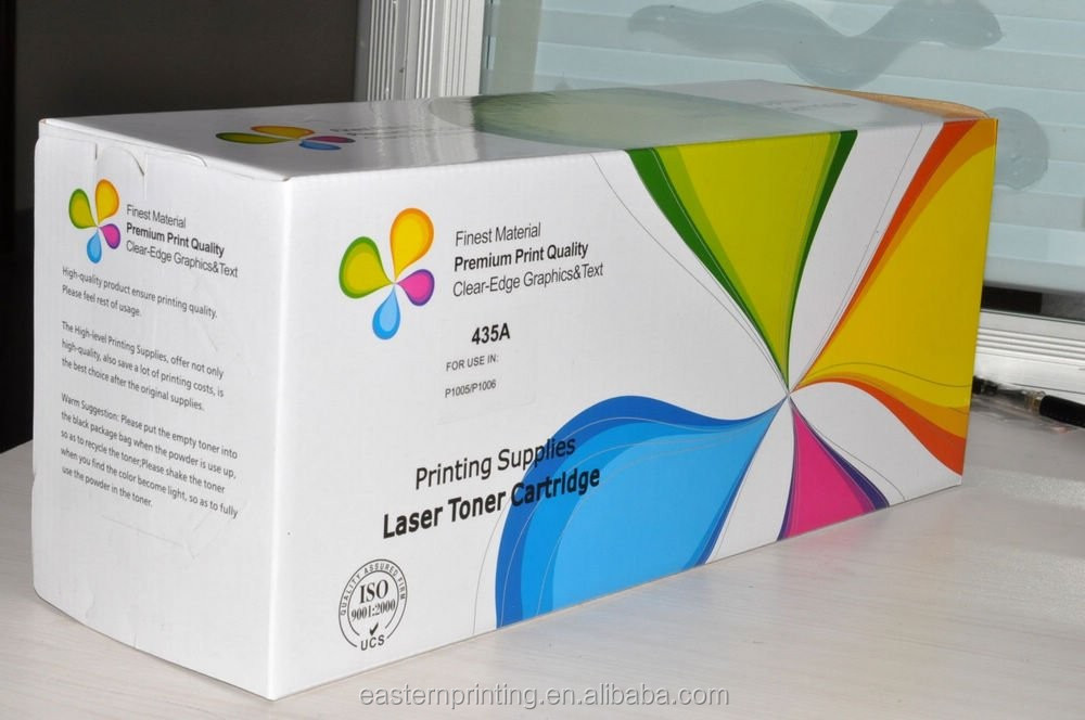 Custom High Quality Corrugated Toner Cartridge Packaging
