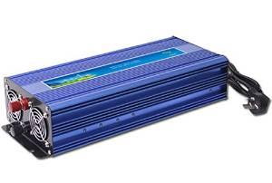 GOWE 1500W Pure Sine Wave Power Inverter,DC/AC Inverter For Wind/ Solar PV System,DC12/24/48V to AC110-120V, AC220- 240V