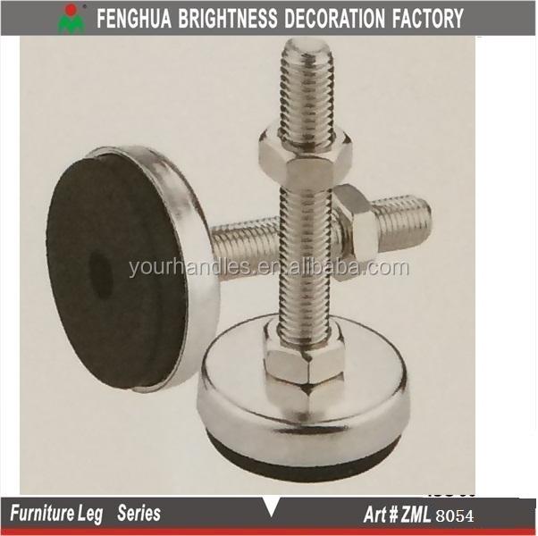 Furniture Legs Adjustable stainless steel leveling feet/adjustable table legs/adjustable
