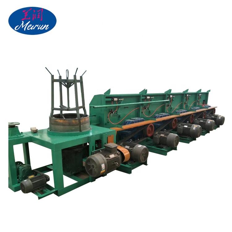 Прямая линия волочения проволоки машина для изготовления электрического сварочного стержня