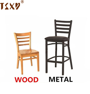 Cheap restaurant furniture wood/metal chair for sale