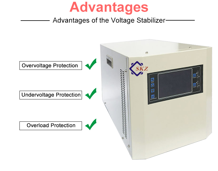 5KVA Single Phase Static Voltage Stabilizer