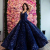 Jancember BRSM66567 purple women party sexy custom made organza evening dress