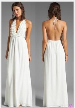 80471fd074 Vestidos de playa blanco largos - Vestidos elegantes