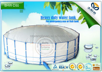 hot sale high quality heavy duty Plastic steel framework Water Tank