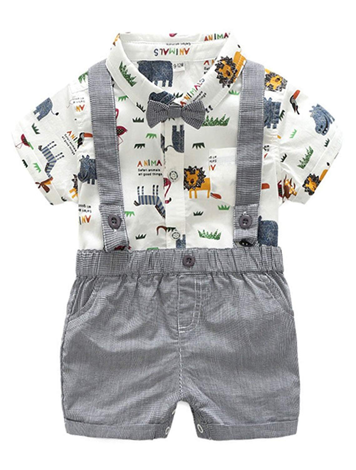 Shorts Summer Clothing Set OUTGLE Toddler Girl Short Set Little Girl Floral Off Shoulder Straps Top