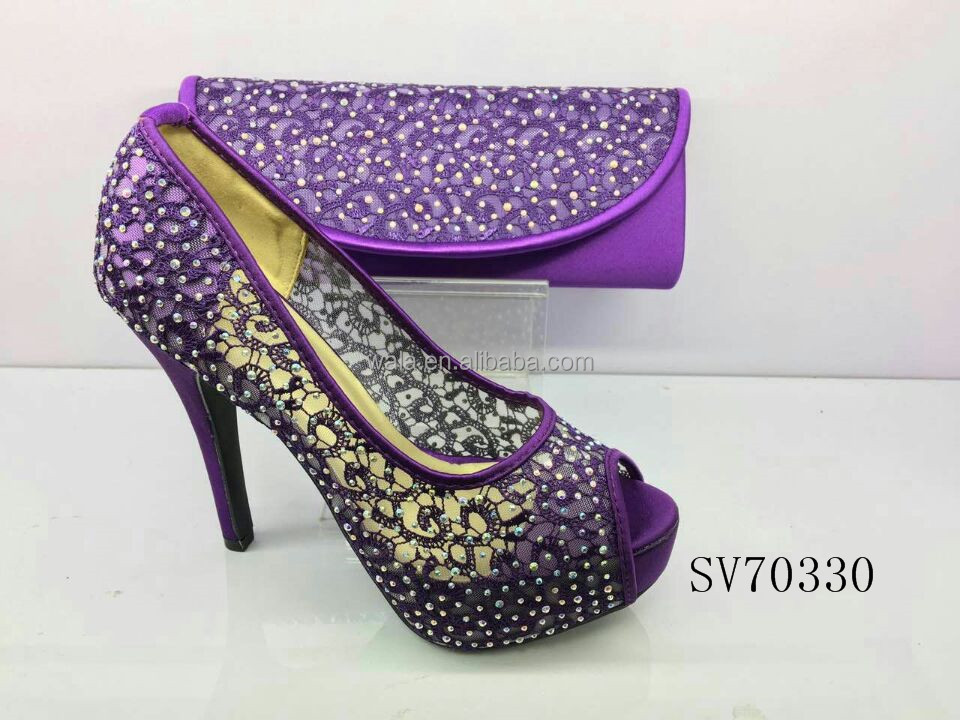 shoes factory ladies peep toe SV70330 shoes design heel lastest handcut matching and high price design shoes bag zxqW7xAvwp
