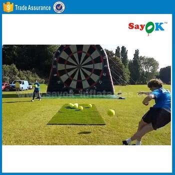 Aufblasbare Fussball Darts Brettspiel Kaufen Riesigen Aufblasbaren Garten Fussball Dartscheibe Buy Aufblasbare Fussball Darts Aufblasbare Dart