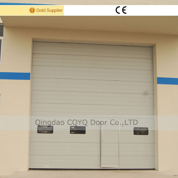 Acero nave industrial puertas pu aislamiento puerta for Puerta industrial