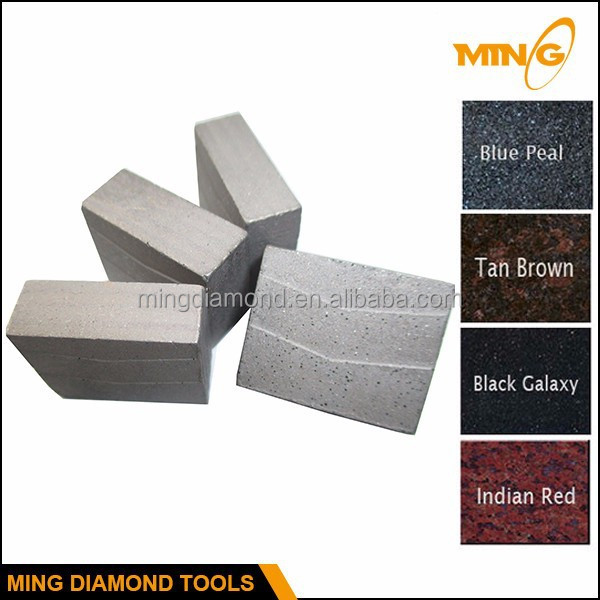 Power Tools Saw Blade Cutting Part Stone Segment For Granite Edge Cutting