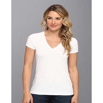 b5429052f65b Fashion 100 Cotton White Girls V Neck Plain Best T Shirts - Buy Best ...