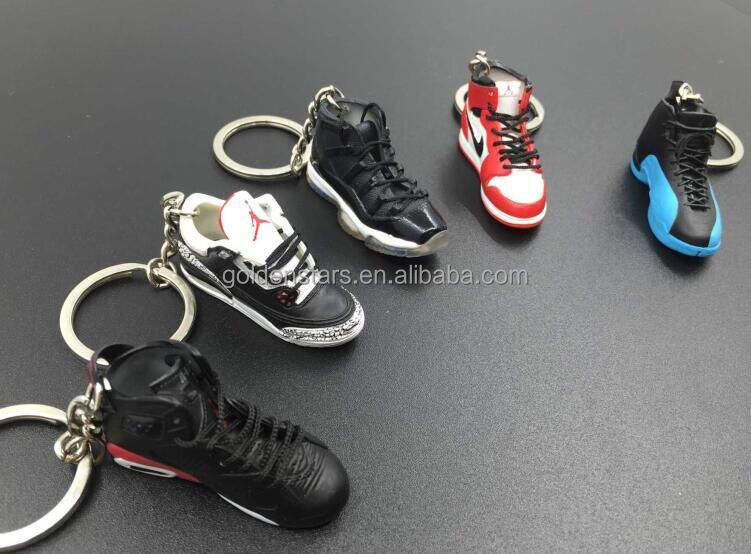 Bag pendant 3D model AJ11 Jordan keychain