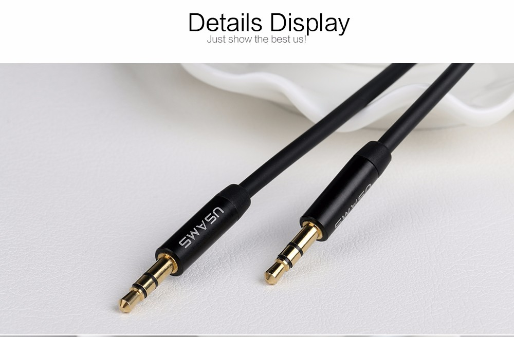 Aux Cable Car 3.5mm to 3.5mm Jack Audio Cable Male to Male (12)