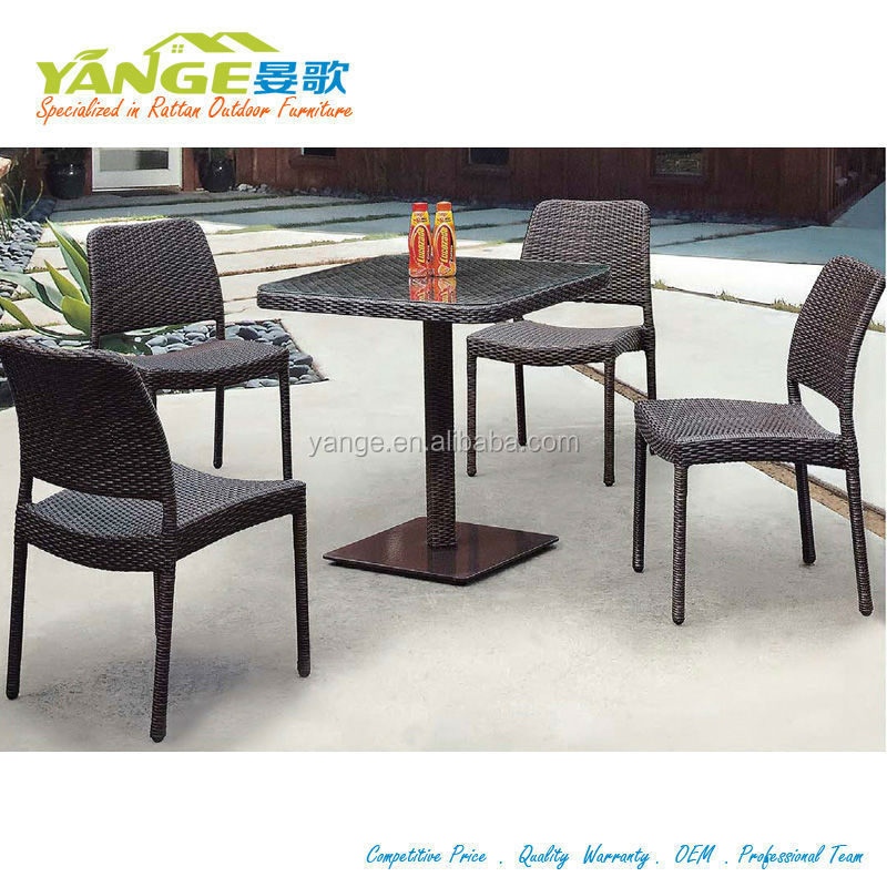 outdoor rotomolded outdoor bar stool set chairs and tables for bar used