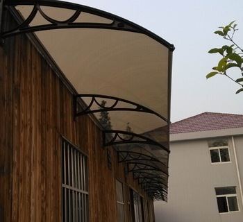 Solid Polycarbonate Awning Canopies Front Door Patio Rain