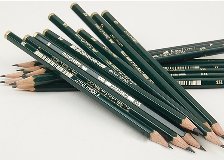 Faber Castell 9000 Graphite Pencil for Drawing Sketching ...