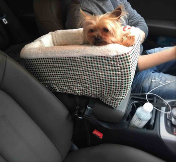 Pet Travel Carrier For Cars Car Seat Booster Dog