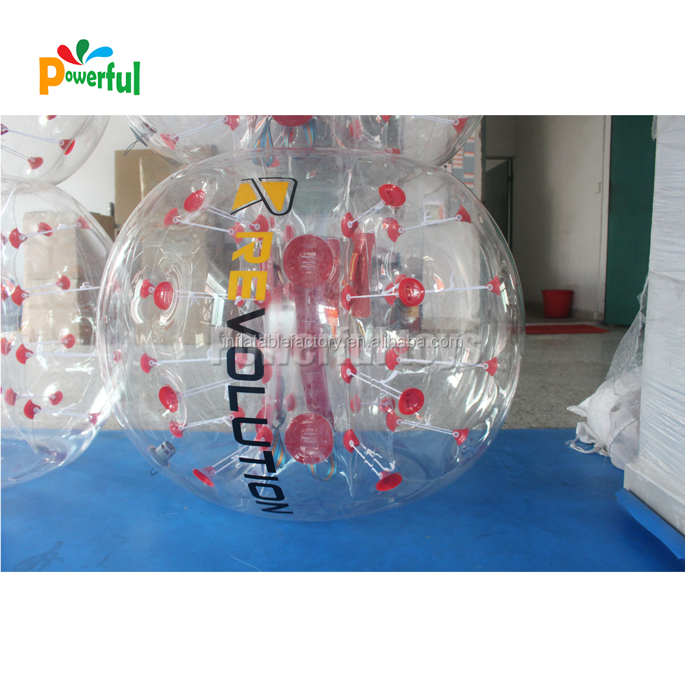 inflatable body bumper ball with logo
