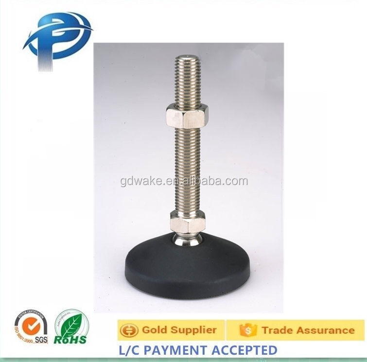 stainless steel adjustable leveling feet,leveling foot stainless steel,adjustable plastic leveling glides
