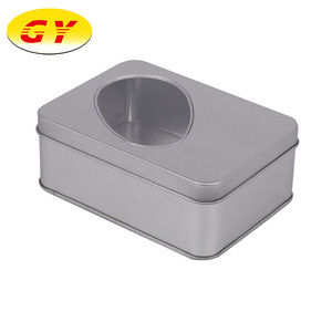 Wholesale plain empty tin box with lid in DongGuan