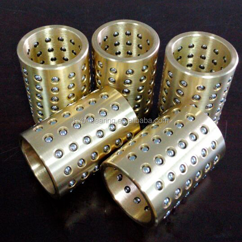 Cylinder ball bearing die set,brass made FZ ball retainer,Bronze/chrome steel/Aulumium/POM Plastic ball bearing cage