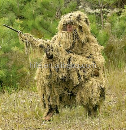 3D Leaf Ghillie Suit5 CS hunting blind suit,camouflage blinds