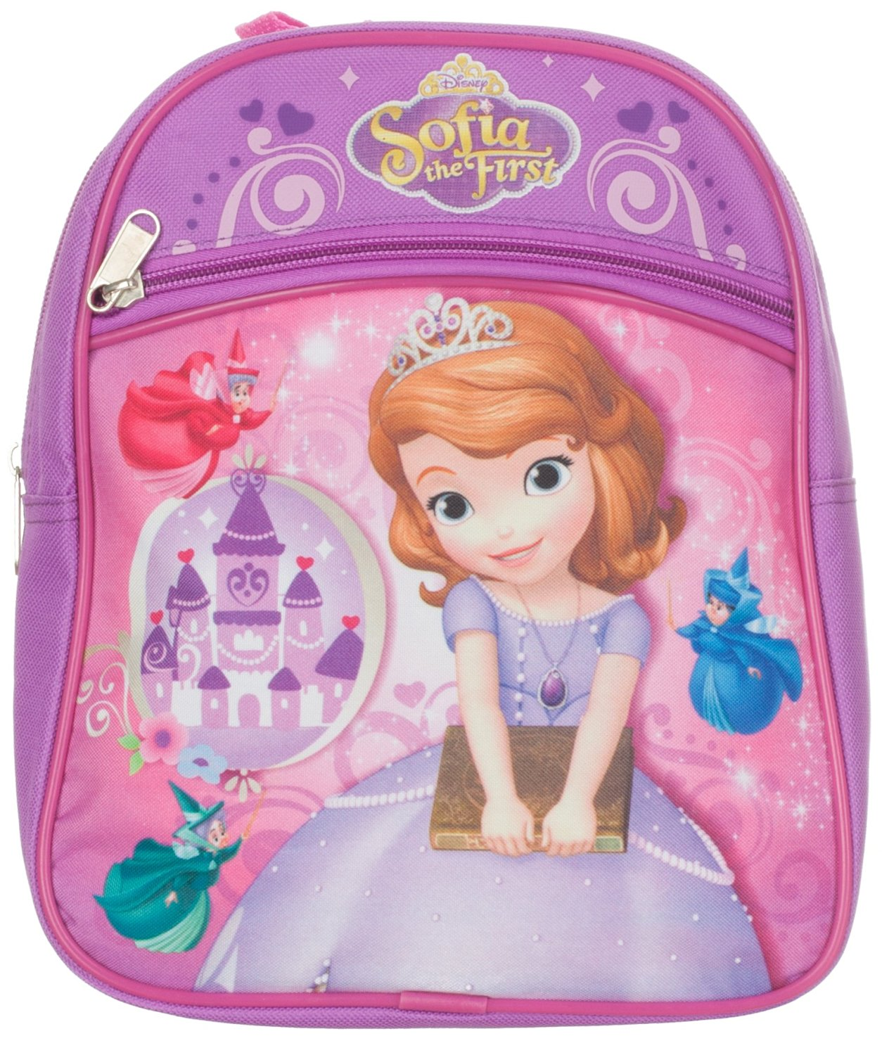 dec80443bc4 Get Quotations · Disney Girls Sofia the First Mini Backpack 10