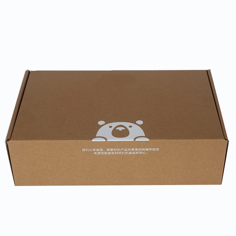 Customized food packaging paper boxes corrugated for shipping carton