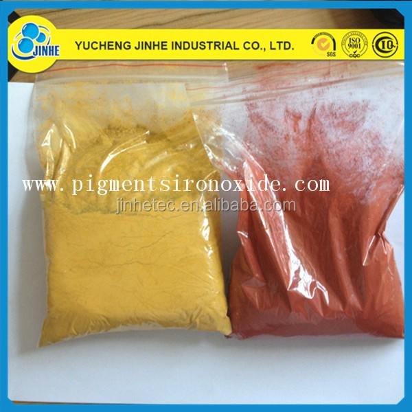 germany quality synthetic pigment iron oxide yellow and black