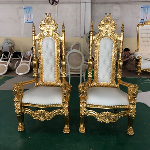 LC92 baroque queen throne king chair