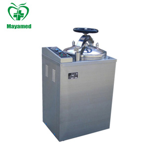 Hot sale medical devices 35L -100L stainless vertical steam sterilizer  autoclave price