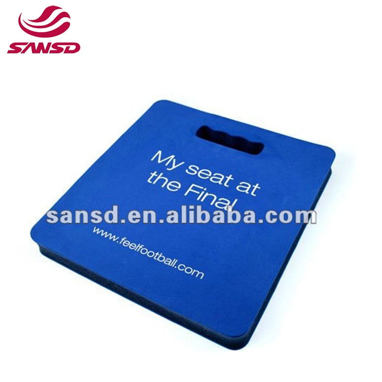 Factory price green seat pad eva kneeler pad stadium seat cushion