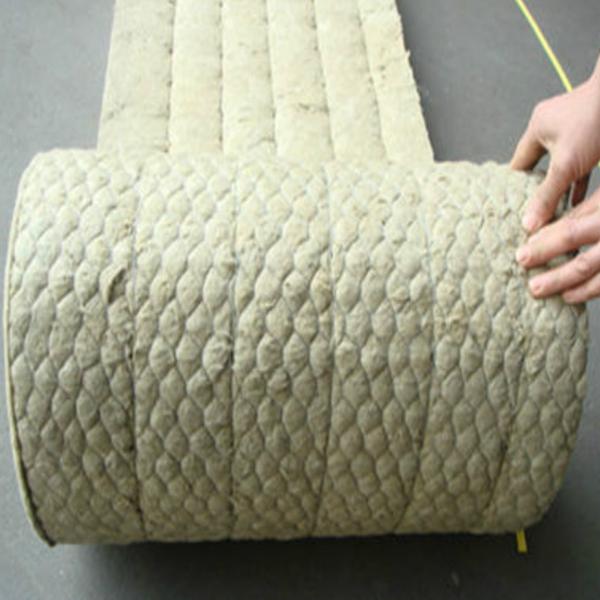 Fireproof Rock Wool Blanket Wire Mesh Thermal Insulation/rockwool ...