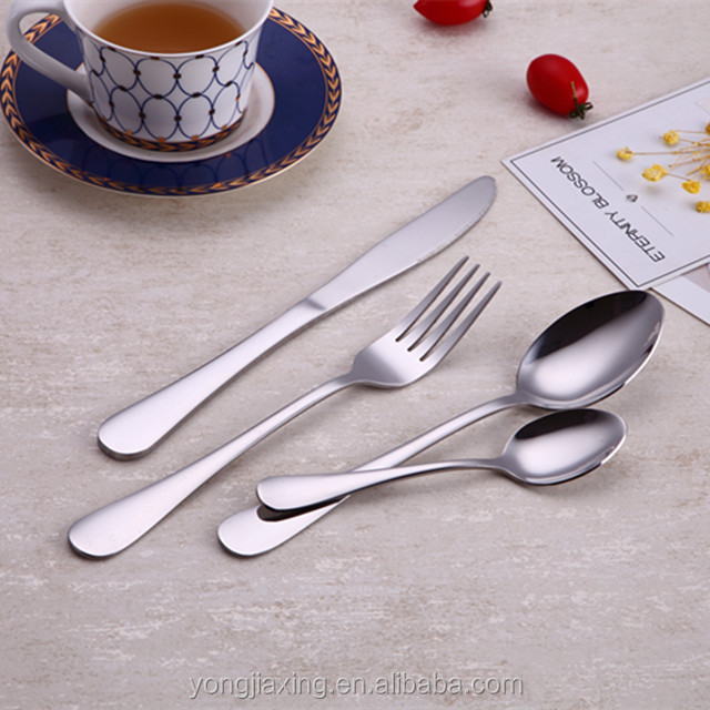 2018 Mirror Polish spoon stainless steel cutlery