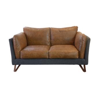 Retro Club Vintage Leather Living Room Sofa
