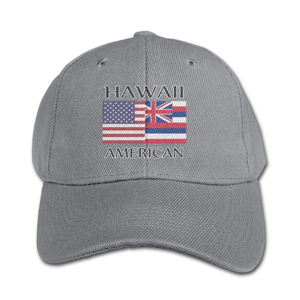 e2d971d4 KIDSCAP Hawaii American Flag Kids Adjustable Snapback Curved Visor Baseball  Caps Toddler Baseball Hat