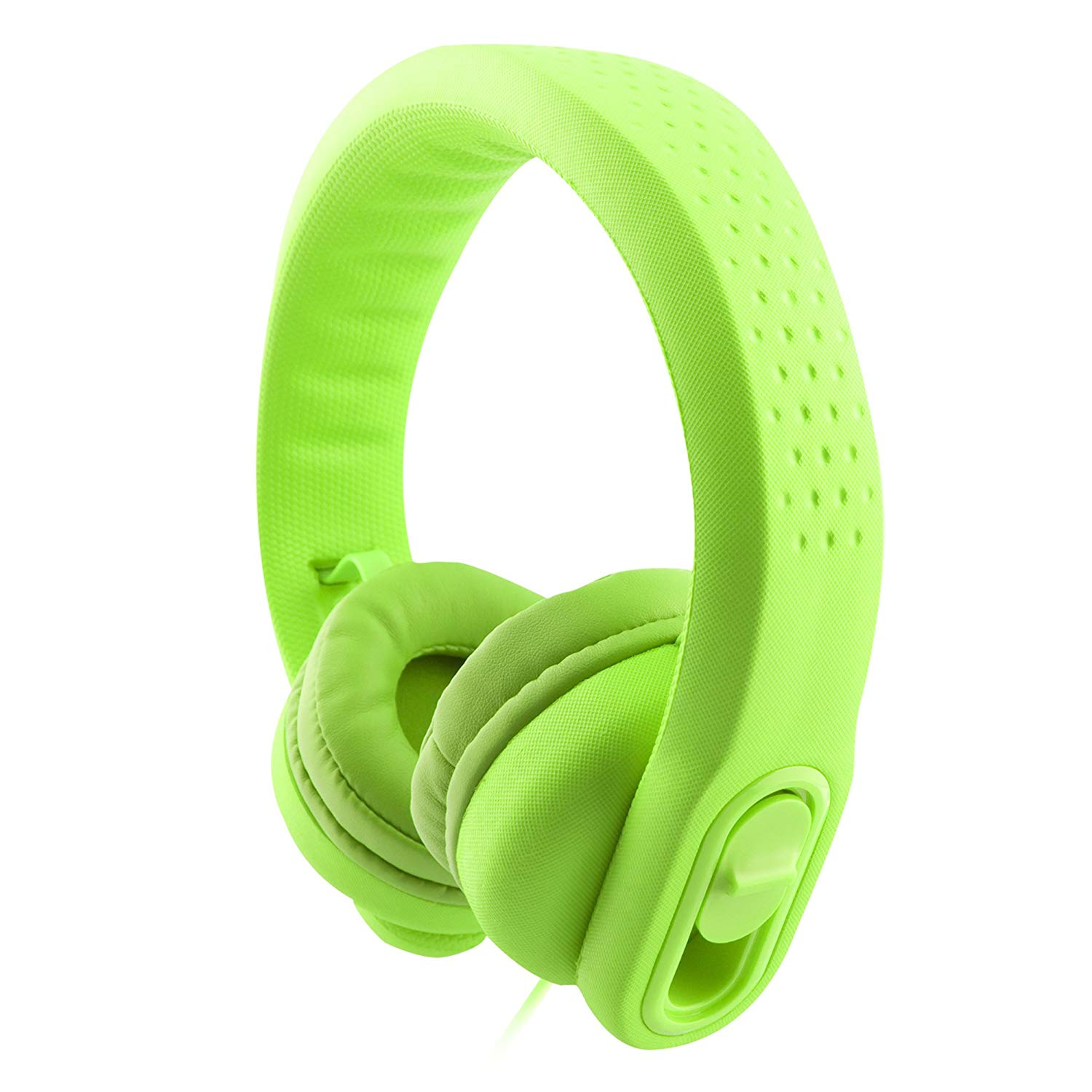 K900 Wired Over Ear Kids Headphones Toddler Headphones with Microphone and Sharing Port, 85dB Volume Limiting, Girls Headphones for Kids,Safe Soft Durable,Boys Child Children Headphones Kids (Green)