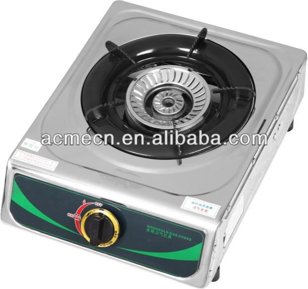 Energy saving conjoined LPG biogas table top stoves