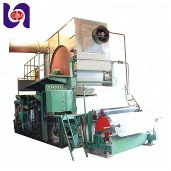 White Color and Copy Paper Type A4 Copy Paper 80 gsm printing paper making machinery