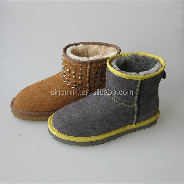 Russian winter fox fur boots with good market in russian