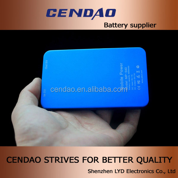 Good news from cendao smart power bank 4000mah with best price power bar charger for mobile phone
