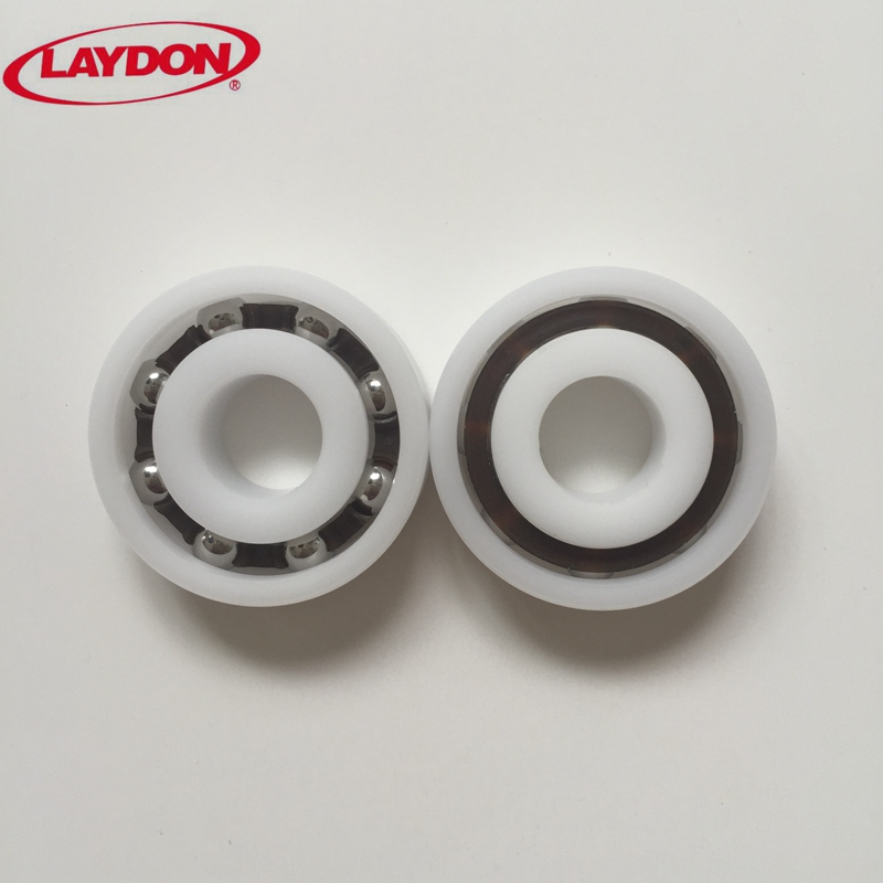 5 PCS Plastic Bearing POM 6000 Glass Balls 10x26x8 Ball Bearings