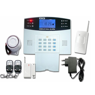 Top wired wireless gsm security system door window home alarm