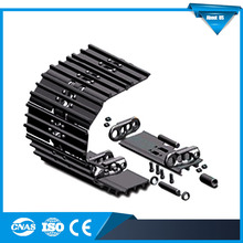 Warrantly 1 Year PC200 Crawler Excavator Undercarriage Steel Tracks